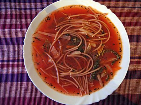 minestrone-leves